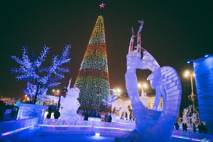 елка в центре екатеринбурга
