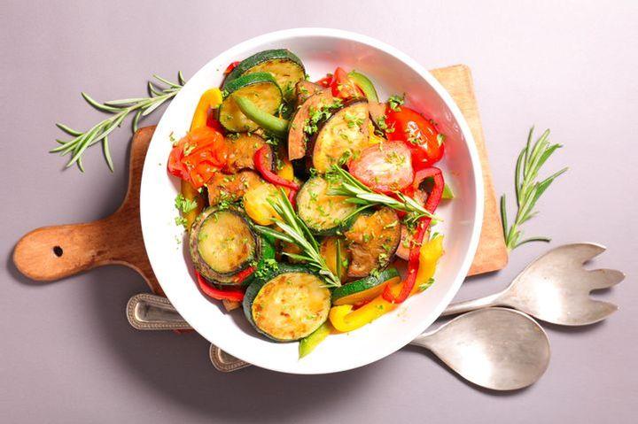 Постное овощное блюдо