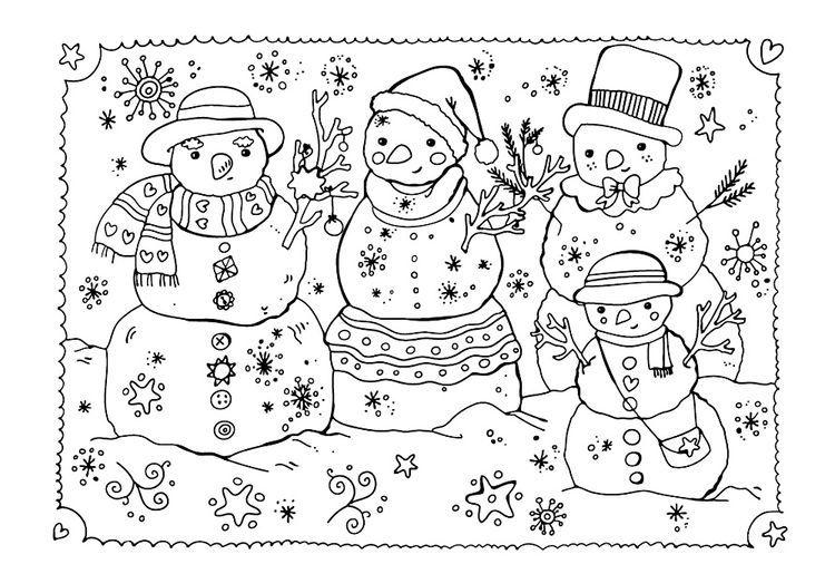 Новогодняя раскраска-открытка