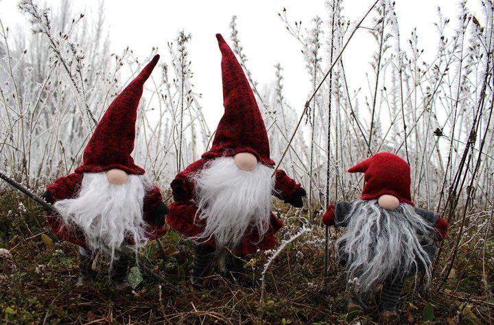 Скандинавский рождественский гном