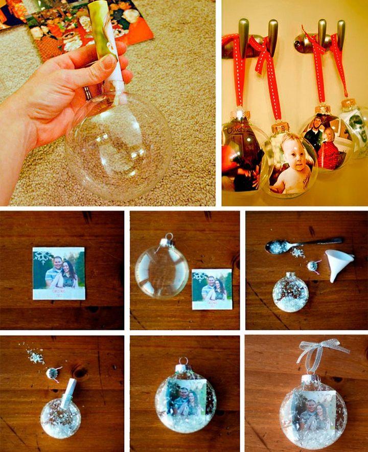 Мастер-класс елочные шары с фото