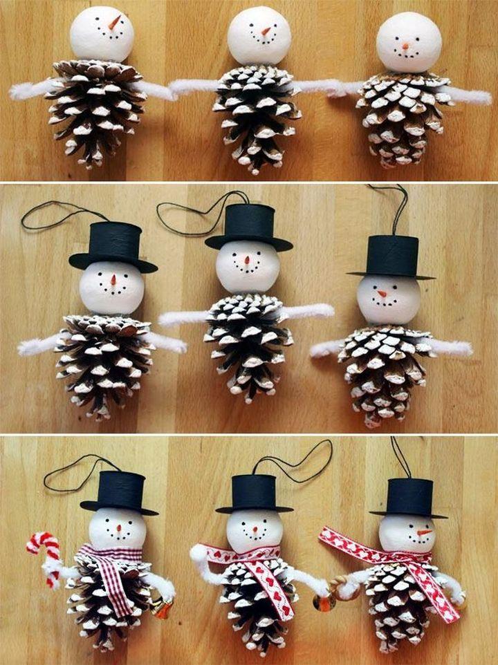 Мастер-класс снеговики