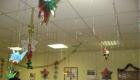 Украшение потолка в офисе на Новый Год 2021