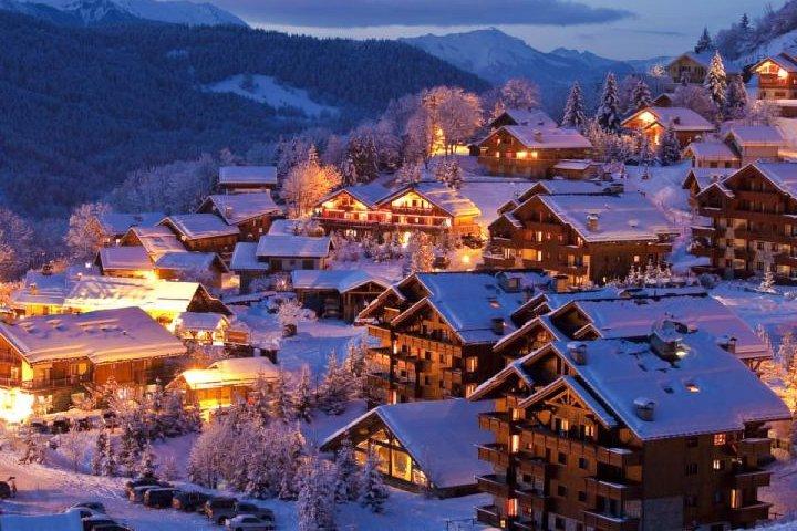 домбай зимой