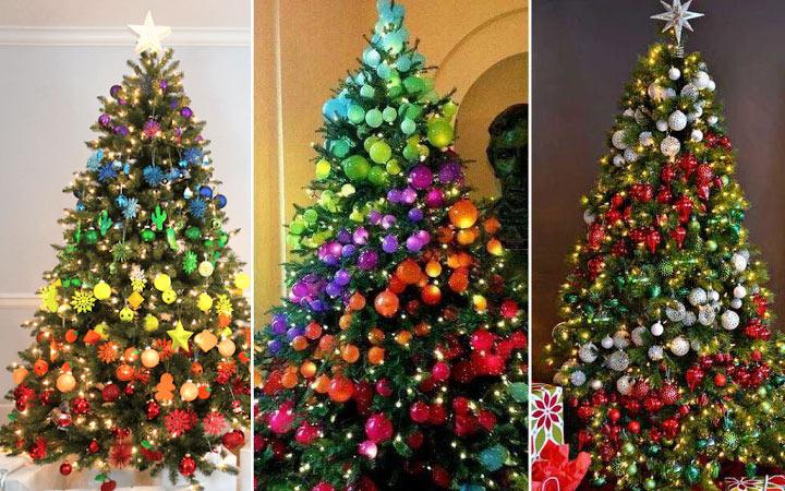 Разноцветная (радужная) спиральная елка на Новый Год 2021
