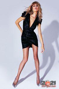 Маленькое черное платье осень-зима 2020-2021