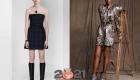 Модные принты  коктейльных платьев на 2021 год