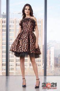 Платье бэби-дол осень-зима 2020-2021