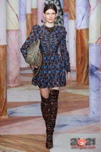 Коктейльное платье осень-зима 2020-2021