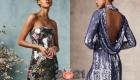 Блестящие коктейльные платья на Новый 2021 год