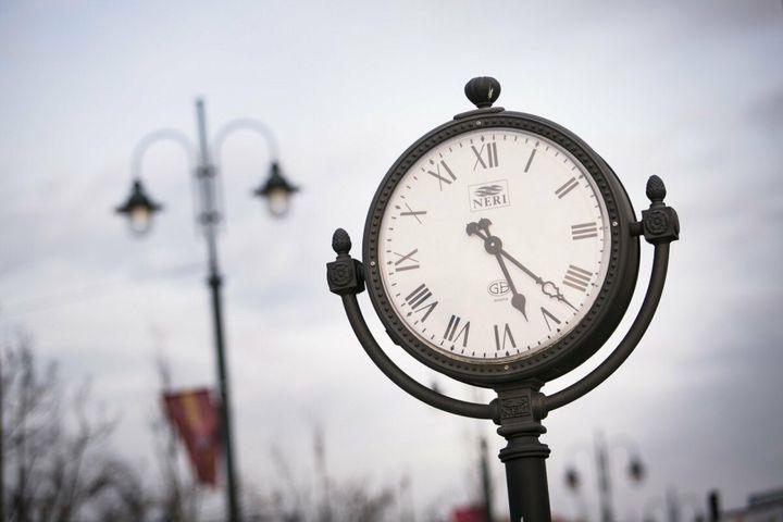 Уличные часы в Европе