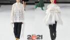 Модные модели белых блуз на 2021 год