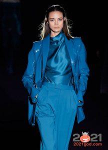 Модные цветные блузки сезона осень-зима 2020-2021