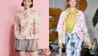 Блузы 2021 года с цветочным принтом