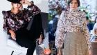 Модные принтованные блузки сезона осень-зима 2020-2021