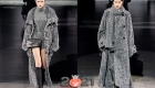 Вязаные пальто Dolce Gabbana осень-зима 2020-2021