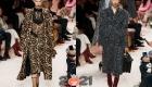 Модные принты для женских пальто сезона осень-зима 2020-2021 год