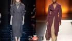 Классические пальто коллекций сезона осень-зима 2020-2021