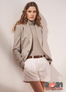 Модный облегающий свитер на 2021 год