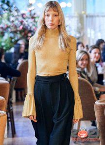 Тонкий облегающий свитер осень-зима 2020-2021