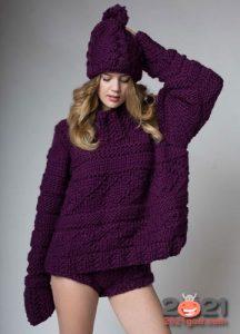 Свитер на 2021 год - модные тренды вязаной моды