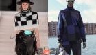Модные свитера сезона осень-зима 2020-2021 в клетку