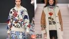 Модные свитера сезона осень-зима 2020-2021 с цветами