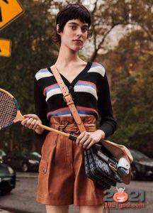 Свитер в полоску - модный тренд 2021 года