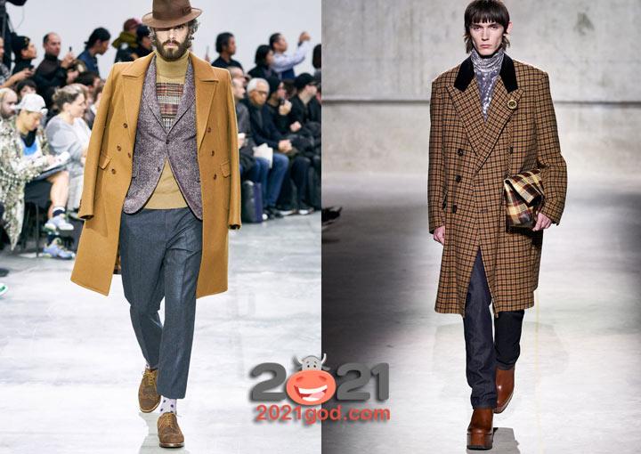 Трендовая коричневая обувь для мужчин в сезоне осень-зима 2020-2021