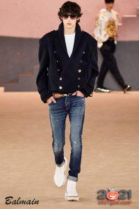 Белая мужская обувь осень-зима 2020-2021