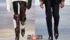 Модные мужские туфли осень-зима 2020-2021 с острыми носками