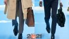 Острые носки - модные тенденции мужской моды осень-зима 2020-2021