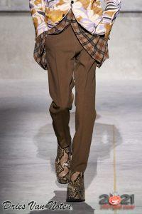 Ботинки на платформе - мужская мода осень-зима 2020-2021