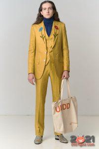 Модный мужской костюм осень-зима 2020-2021