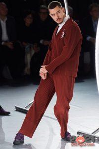 Яркий мужской костюм осень-зима 2020-2021