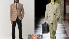 Мужская мода осень-зима 2020-2021 - модная клетка