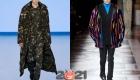 Мужская мода осень-зима 2020-2021 - модные принты