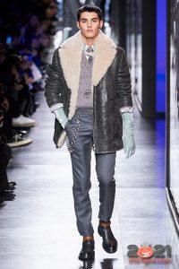 Модная мужская дубленка сезона осень-зима 2020-2021