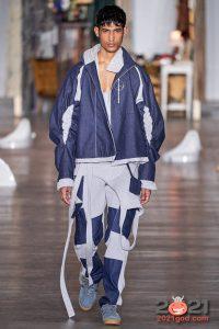 Модный комбинированный джинс сезона осень-зима 2020-2021
