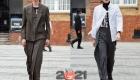 Мужские асимметричные костюмы сезона осень-зима 2020-2021