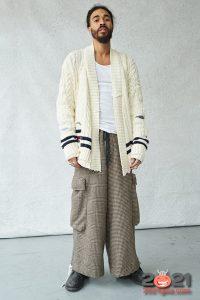 Модная мужская кофта осень-зима 2020-2021