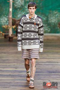 Модный мужской свитер осень-зима 2020-2021