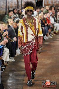 Вязаная мужская мода осень-зима 2020-2021