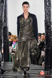 Мужское платье - мода сезона осень-зима 2020-2021