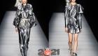 Серебристое платье - в чем встречать Новый Год 2021