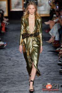Золотое платье - в чем встречать Новый Год 2021