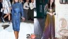 Модные оттенки платьев на Новый Год 2021