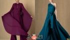 Модный комбинезон с шлейфом  на Новый Год 2021