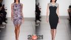 Модное коктейльное платье на 2021 год
