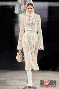 Вязаное платье Dolce Gabbana на 2021 год